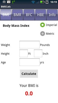 BMI计算器 BMI Calculator