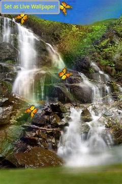 神奇的瀑布
