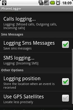 PhoneLogger