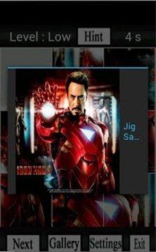 Iron Man Walpaper Puzzle