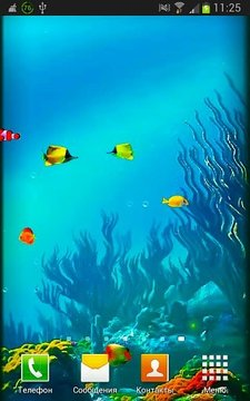 G3 Fish Tank Live Wallpapers
