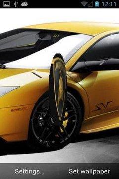 Lamborghini 3D Live Wallpaper