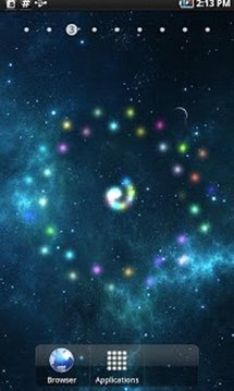Galaxy Stars Live Wallpaper