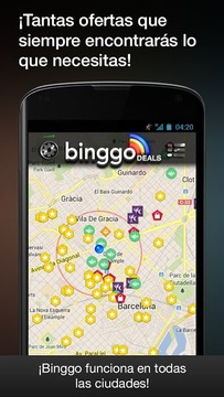 binggo ofertas cupones descuen