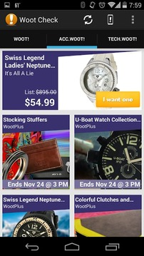 Woot Check - Daily Deals