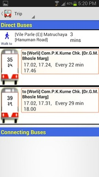 BestBus Route Finder (Old)