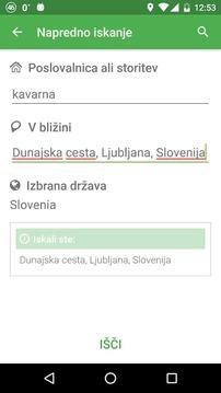斯洛文尼亚地图搜索应用