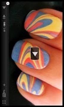 如何做自己的可爱的指甲