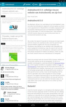 Androidworld Reader