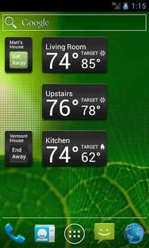 Wi-Fi Enabled Radio Thermostat
