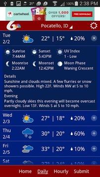 KPVI Weather