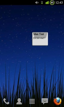 SMS Widget