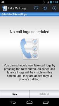 Fake Call Log