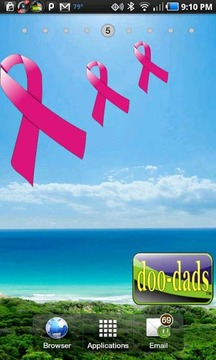 Diabetes Ribbon doo-dad