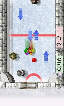 胖子冰上足球