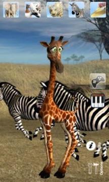 会说话的长颈鹿
