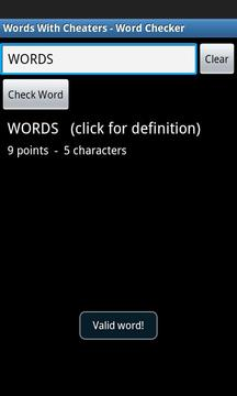 Words With Cheaters Free