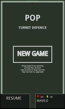 POP Turret Defence