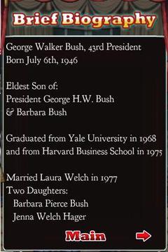 Bush Said!