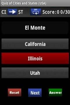Quiz: Cities and States (USA)