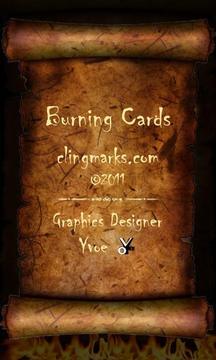 燃烧的纸牌