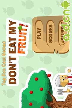 保护果树 Fun Cool Dont Eat My Fruit
