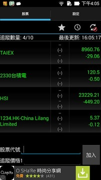 股票警报器 (Stock Alarm)