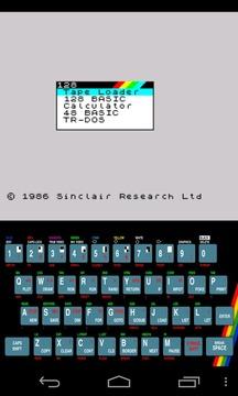 USP - ZX Spectrum Emulator