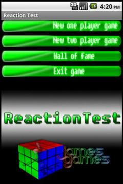 2-Player Reaction Test
