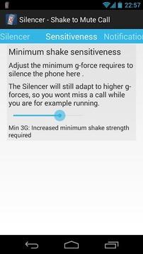 Silencer - Shake to Mute Calls
