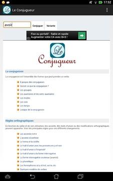 Le Conjugueur