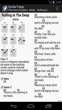 吉他谱和和弦