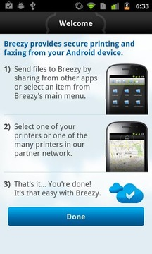 Breezy - Print and Fax