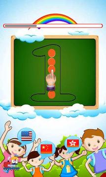 儿童如何写英文字母和数字