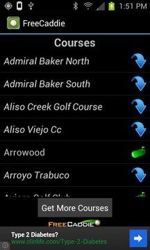 Free Golf GPS APP - FreeCaddie