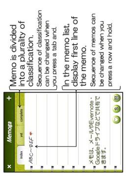 Handwriting Notepad : Memoga