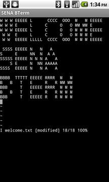 SENA BTerm Bluetooth Terminal
