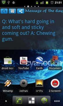 Message of the day Widget Free