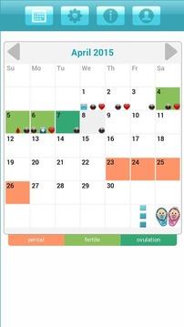 排卵日历 Ladytimer