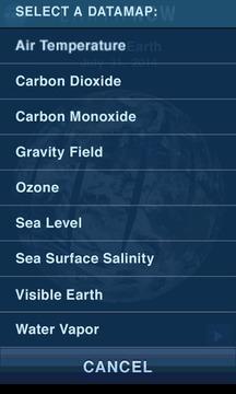 NASA地球仪