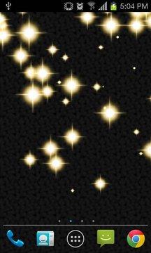 闪光星光现场壁纸