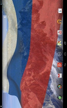 3D俄罗斯国旗的LWP
