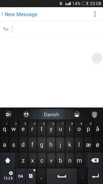 Danish for GO Keyboard - Emoji
