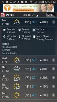 StormTrack Weather for Toledo