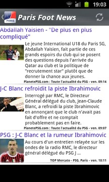 Paris Foot News
