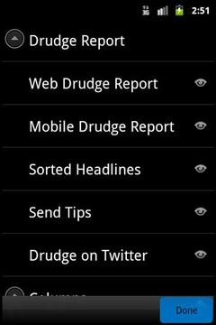 Official Drudge Report Mobile