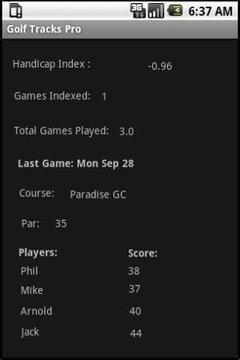 高尔夫计数器 精简版