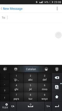 Catalan for GO Keyboard