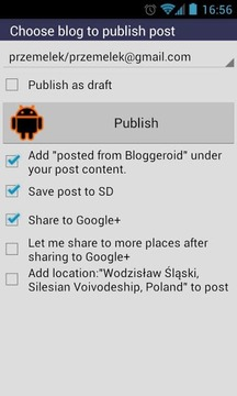 Bloggeroid