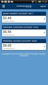 城市国民银行 City National Bank